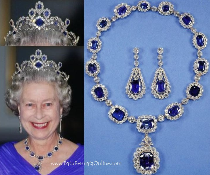 Queen's Sapphire Jewelry United Kingdom