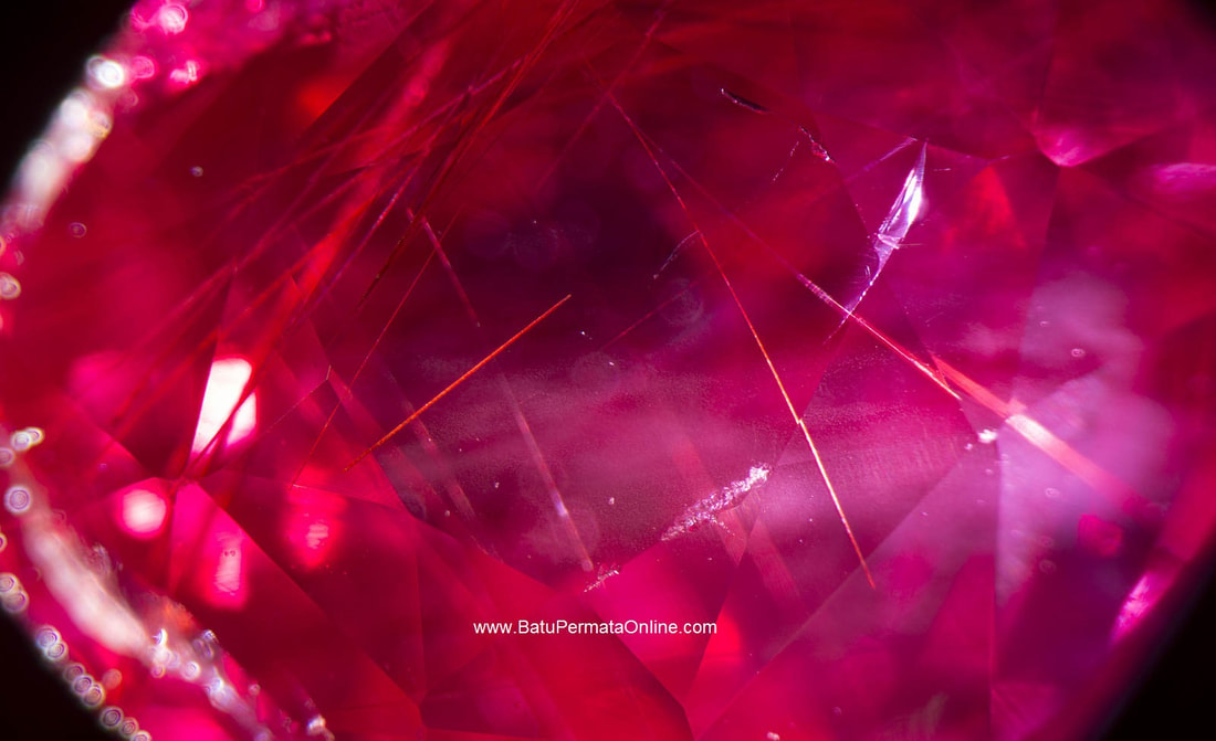 Crack (Inclusions) Natural Ruby