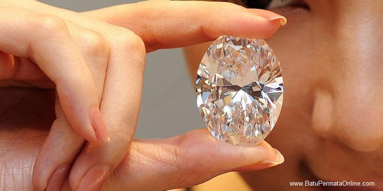 Largest White Diamond in the World Will Be Auctioned
