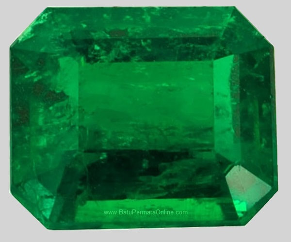 Loose Emerald Octagon Cut